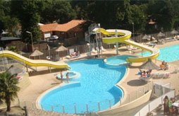 Camping holiday with aqua park